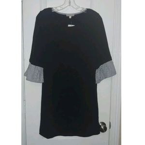S NWT Pleione Nordstrom Bell Sleeve Shift Dress